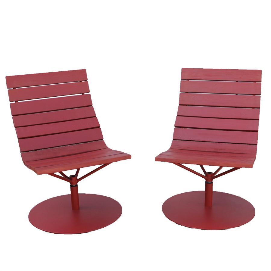 Ikea Draaistoel Rood.2 Draaifauteuils Brygga Marcus Arvonen Voor Ikea