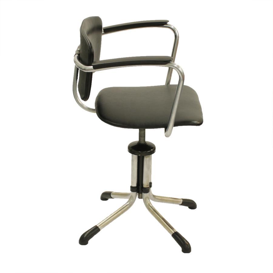 Originele Gispen Bureaustoel.Originele Gispen Stoel Model 354