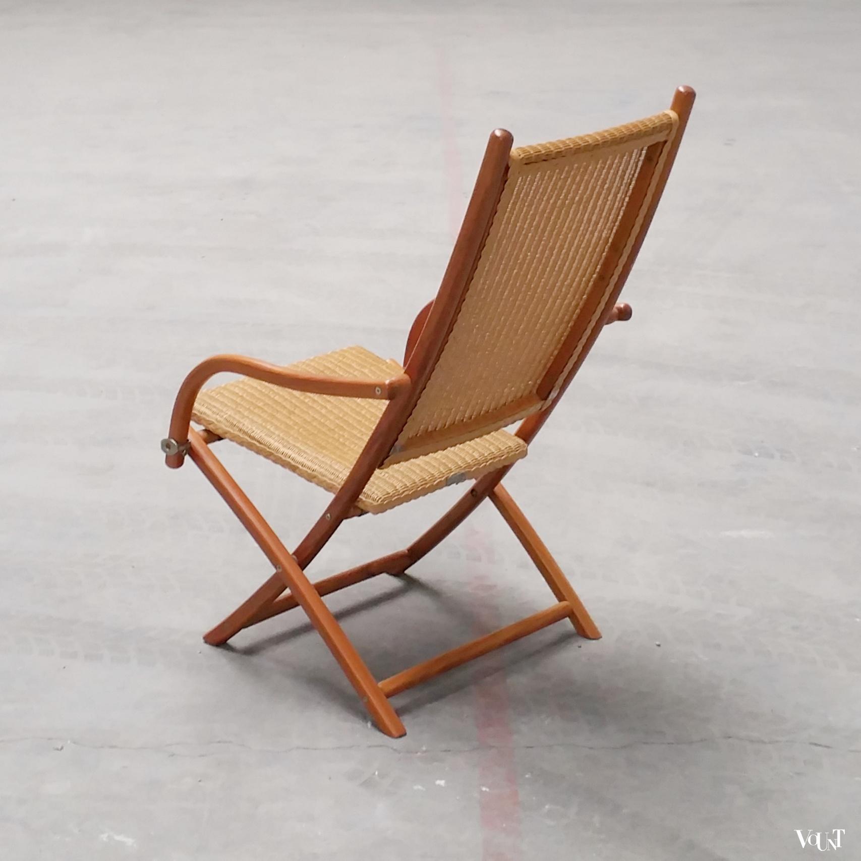 lloyd loom italia klapstoel model victoria. Black Bedroom Furniture Sets. Home Design Ideas