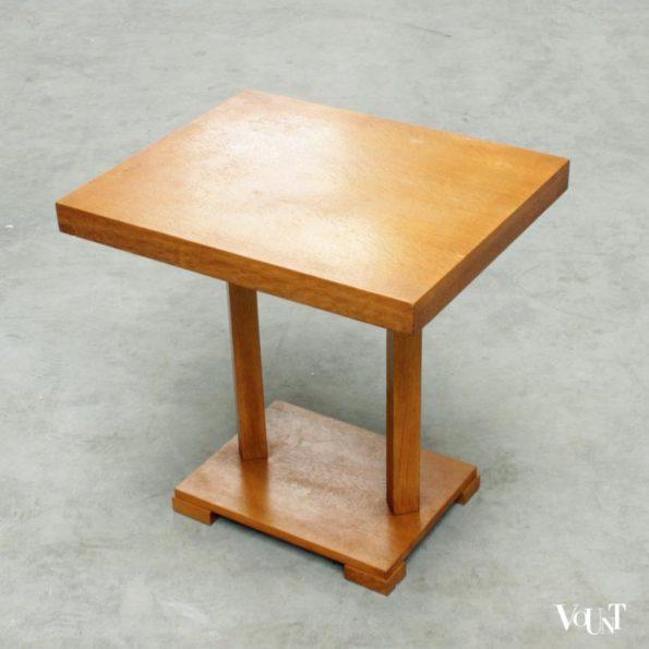 Art deco tafeltje Vroom en Dreesmann jaren '20/'30