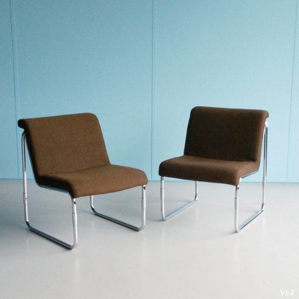 Lounge stoelen Miljö Expo, jaren '80