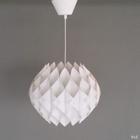 """""""Butterfly"""" hanglamp, Lars Schiøler voor Hoyrup Denmark, jaren '60"""