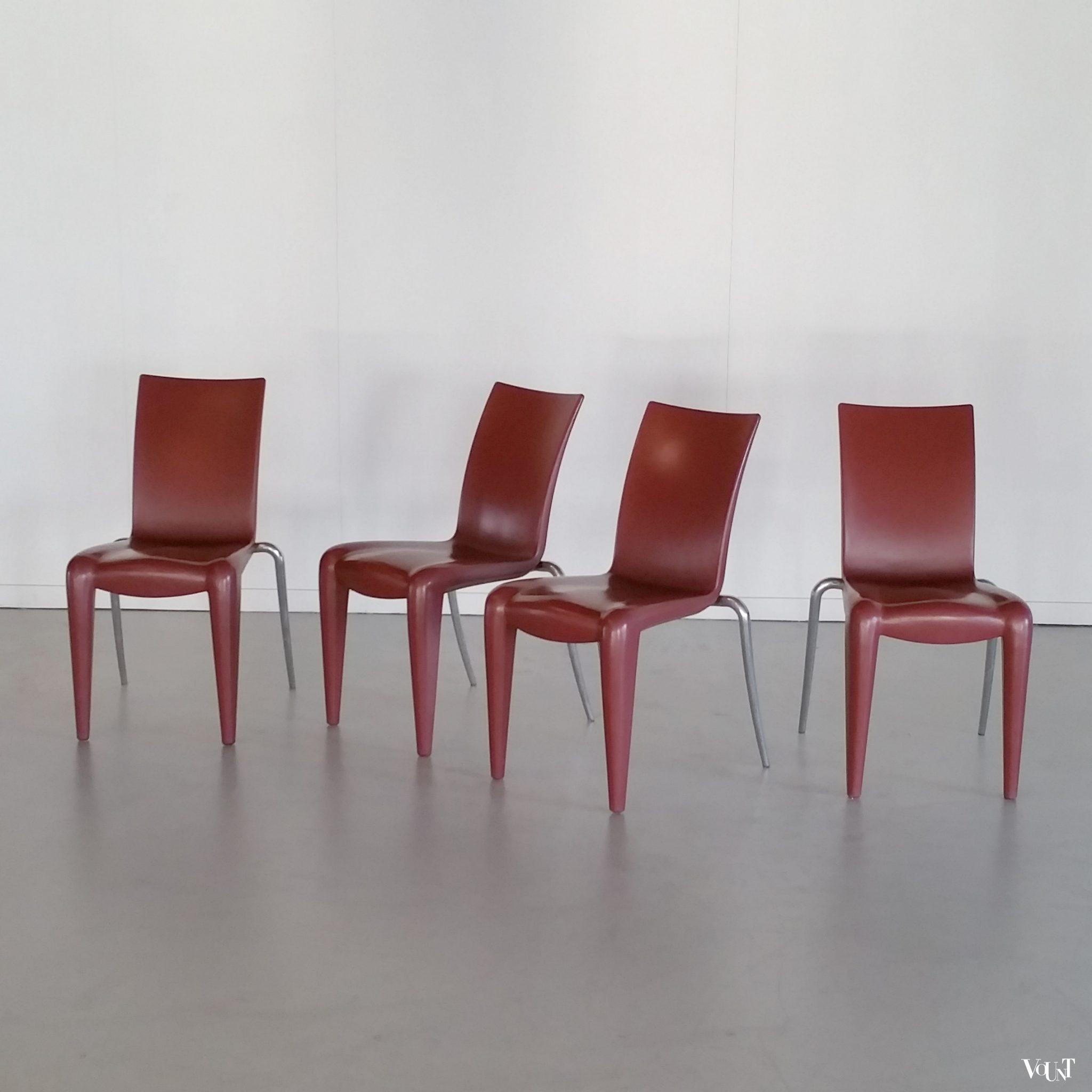 Design Stoelen Philippe Starck.Set Van 4 Design Stoelen Louis 20 Philippe Starck Voor Vitra