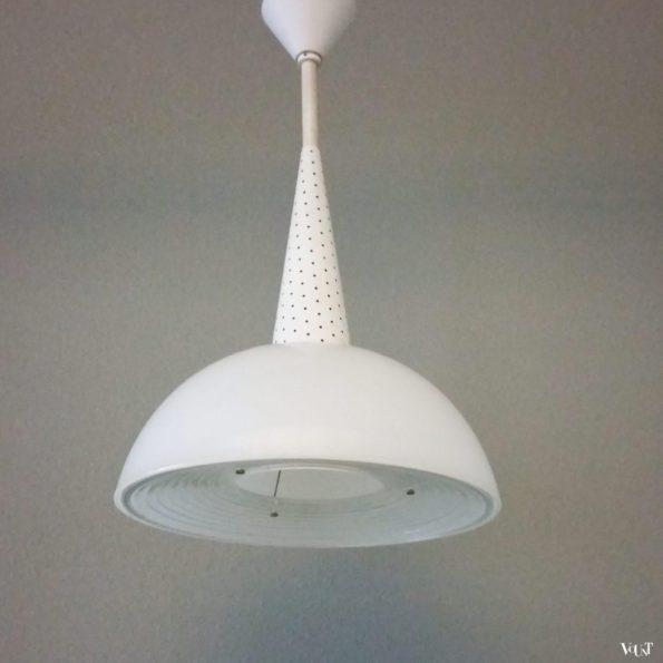 Holophane hanglamp, Mathieu Matégot, jaren '50
