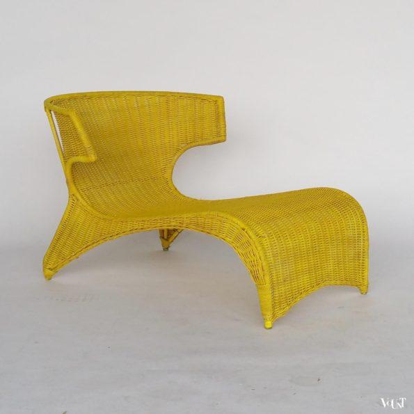 Rotan designstoel PS Sävö, Monika Mulder voor IKEA, 2001