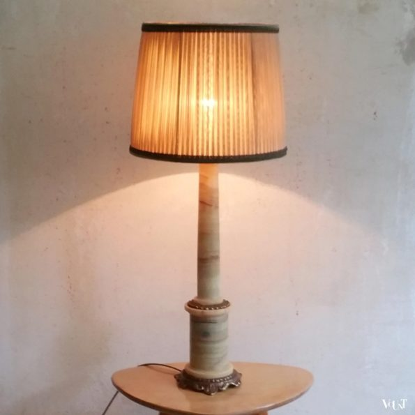 Onyx tafellamp, jaren '60