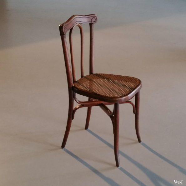 Antieke stoel Cambier Frères, België, rond 1900