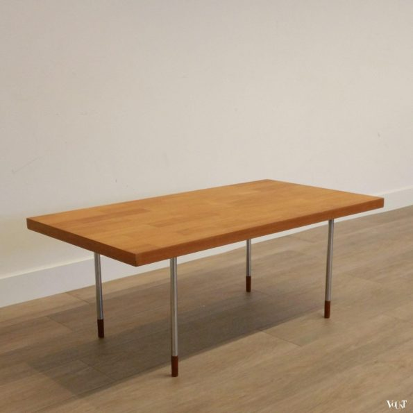 Teakhouten salontafel, Rudolf Glatzel voor Fristho, jaren '60