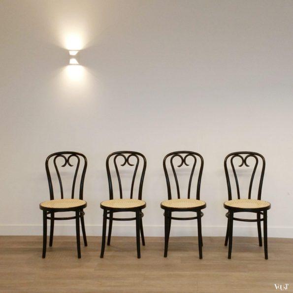 Set van 4 nr. 16 stoelen, ZPM Radomsko, jaren '70