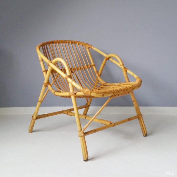 Rotan stoel, jaren '60