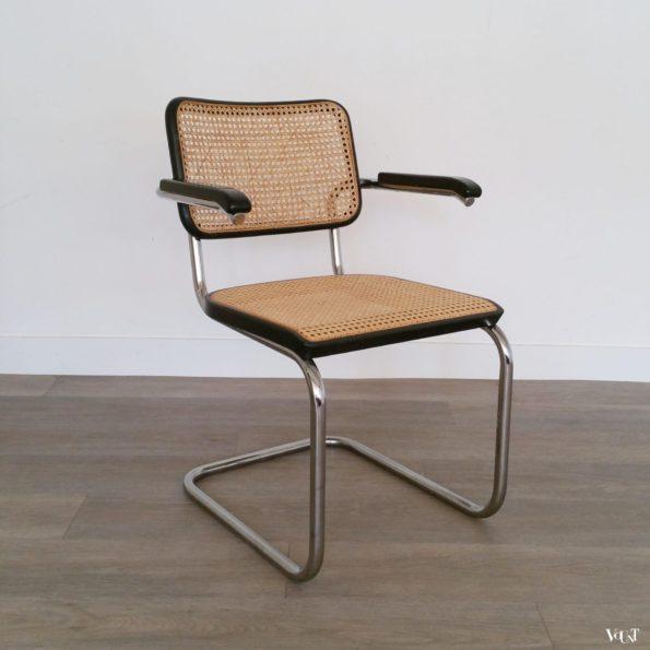 Jaren '80 originele S64 stoel, Marcel Breuer voor Thonet