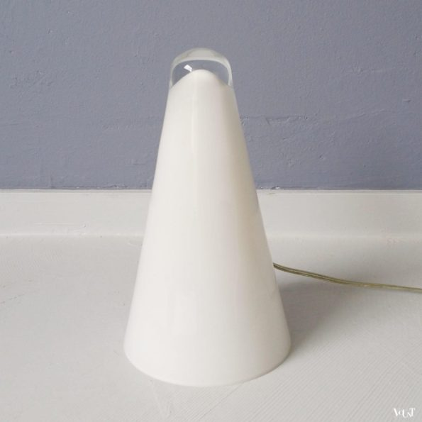 "Glazen ""Iceberg"" lamp, Massive, jaren '90"