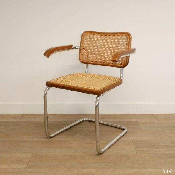 """Vintage """"Cesca"""" stoel, Marcel Breuer, jaren '70"""