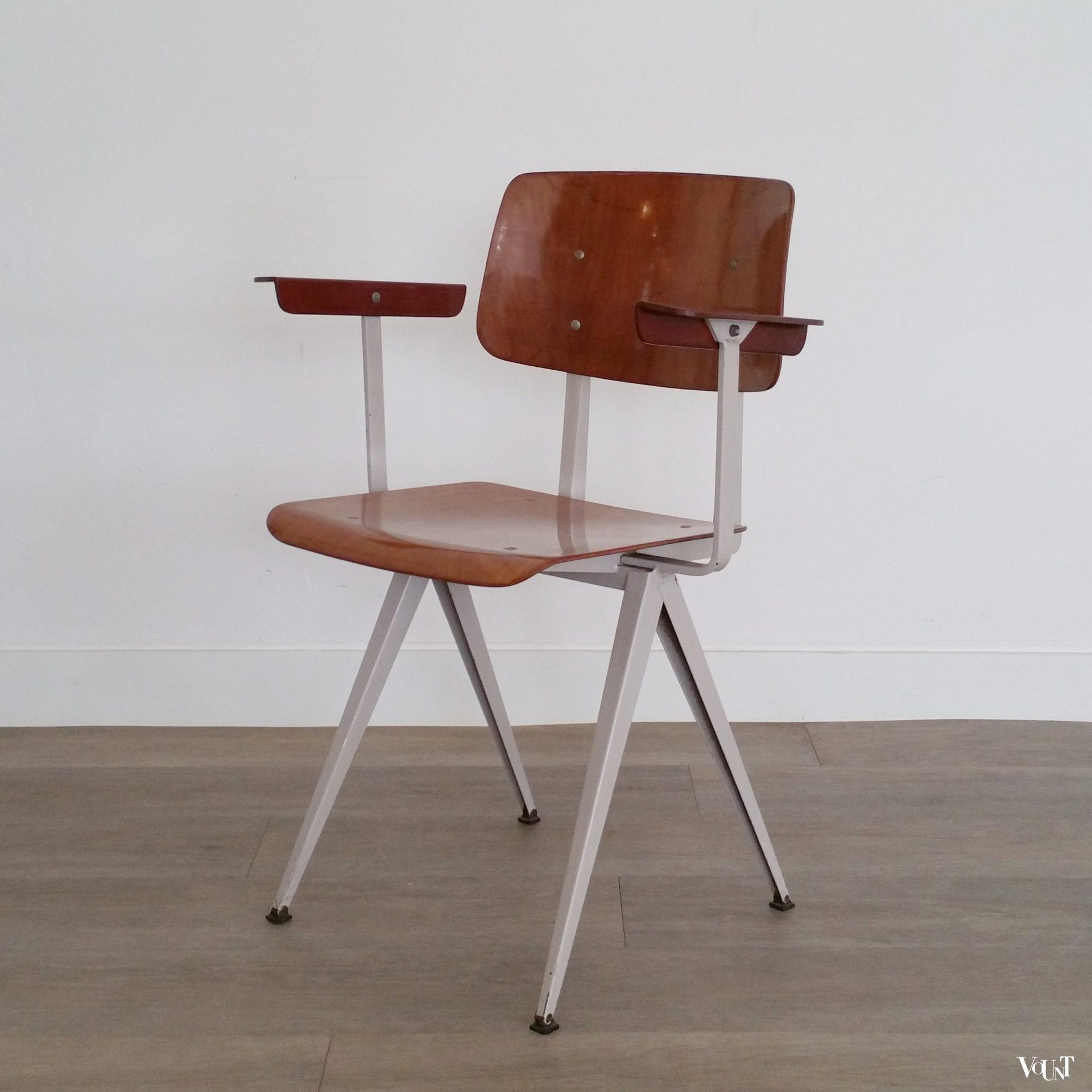Galvanitas stoel S16 met armleuningen, jaren '60